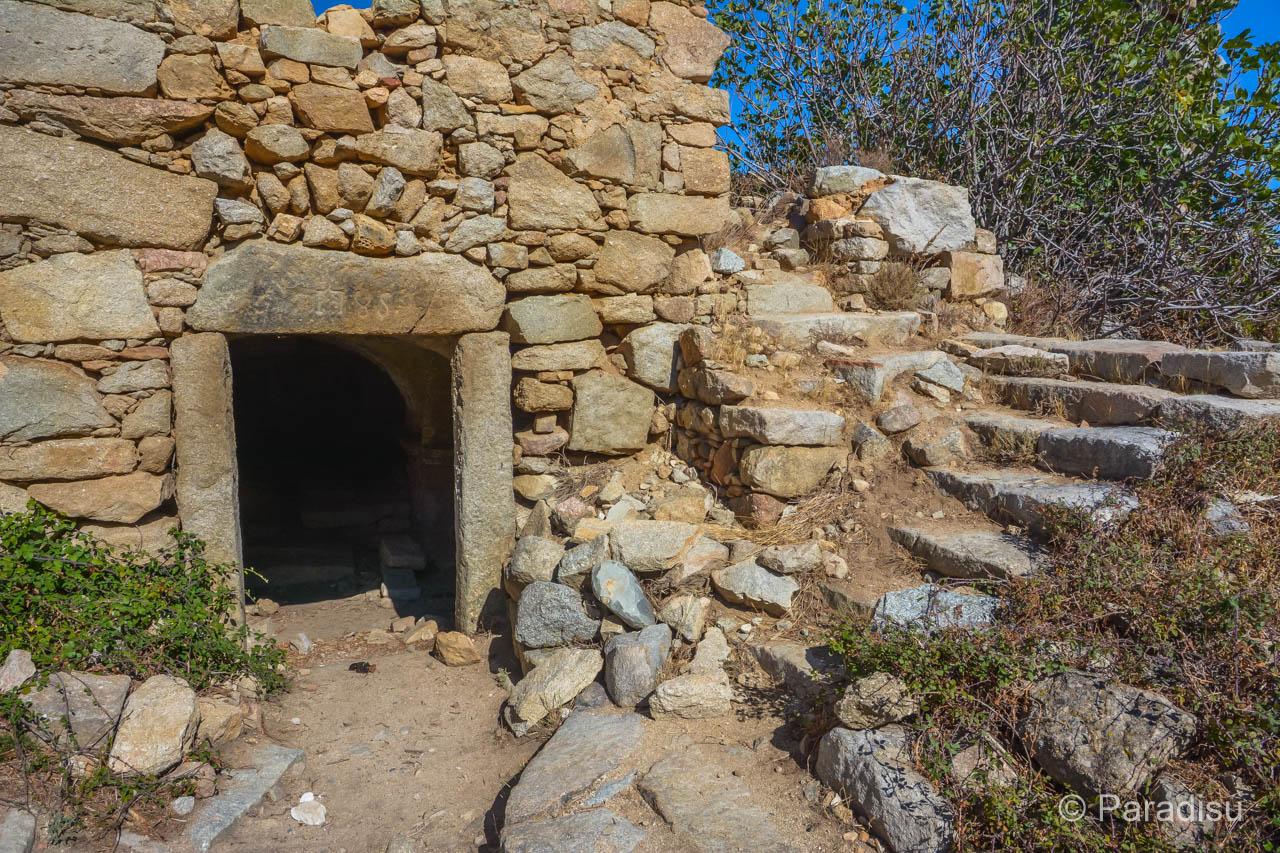 Verlassenes Dorf Occi