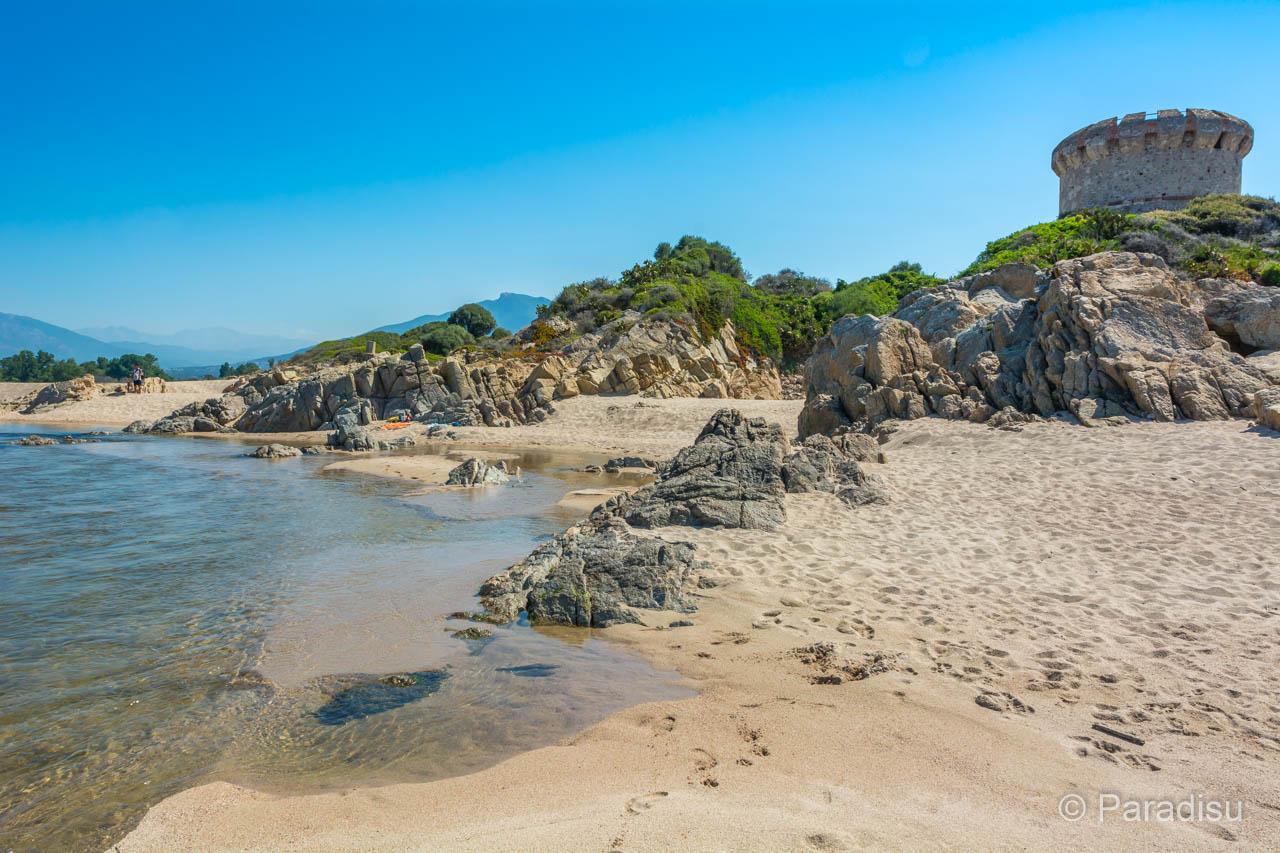 Strand Von Capitello Porticcio
