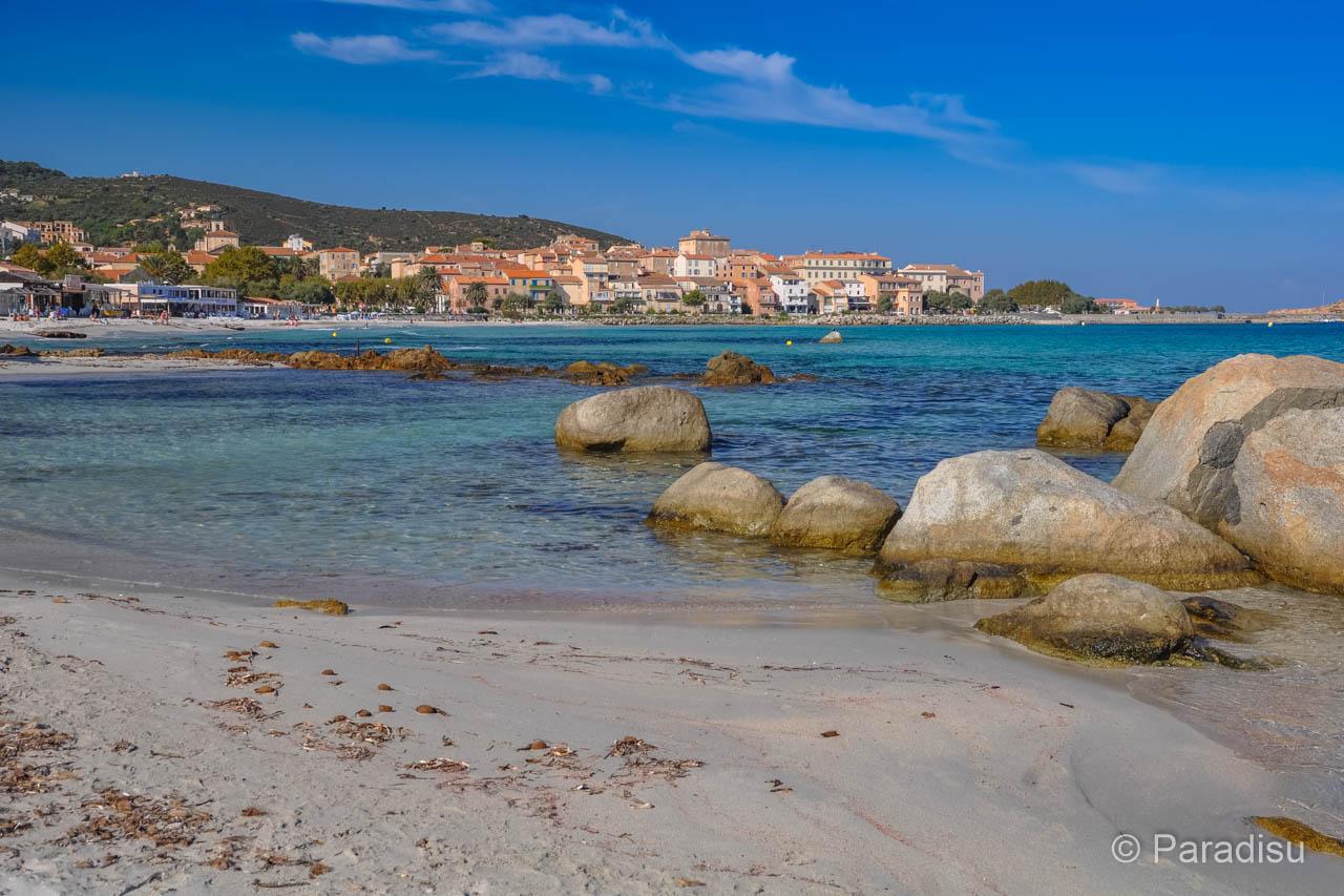 Strand Von Ile-Rousse