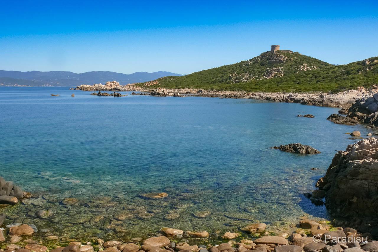 Wanderung Campomoro Cala D'Aguglia