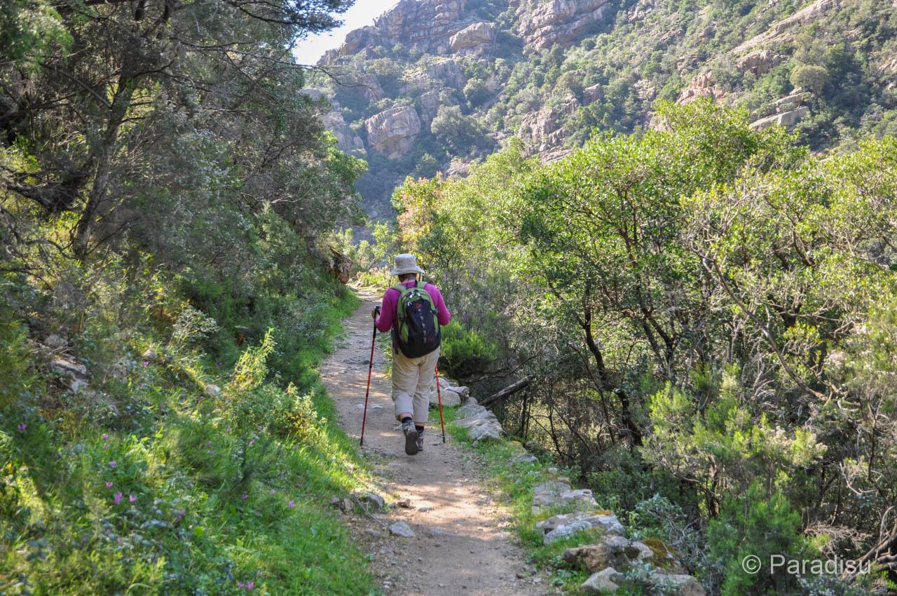 Wanderung Spelunca-Schlucht